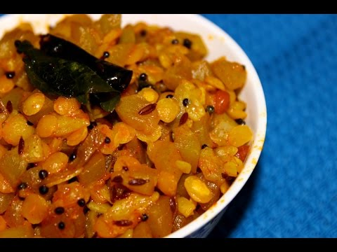 Lauki toor dal curry-bottle gourd toor dal recipe