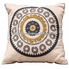 canvas cotton make to order embroidered pillow cover