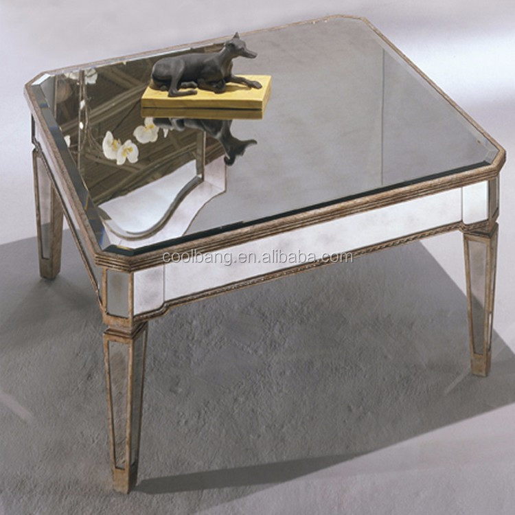 Customized Luxury Antique Design Homemade Aviator Gl Coffee Table
