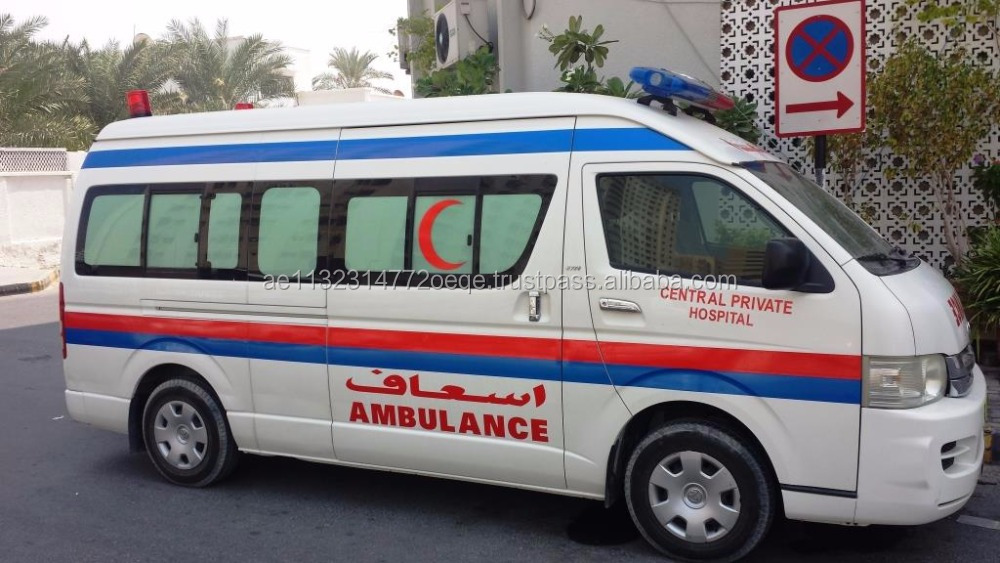 Toyota Hiace Hi Roof With Advance Ambulance Package