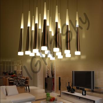 16pcs Drops Lights LED Pendant For Dining Room