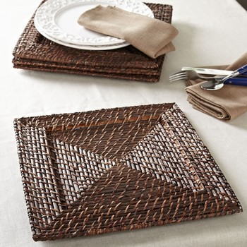 Square Cheap Rattan Charger Plate & Square Cheap Rattan Charger Plate - Buy Round Charger PlateWedding ...