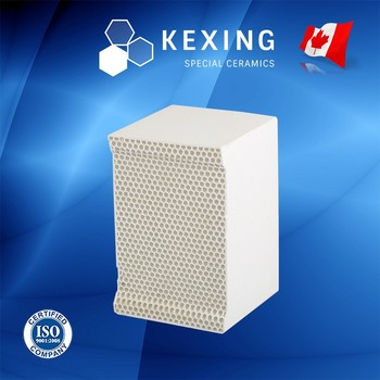 Compact Cordierite Honeycomb ceramic for RTO RCO