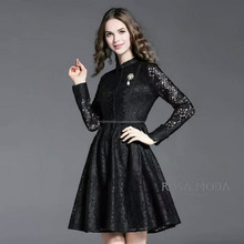 ROSA MODA THAILAND Timeless Black Lace Dress