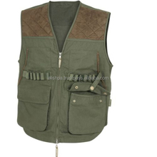 HUNTERS VEST S-3XL SUEDLITE SHOULDERS HUNTING FISHING