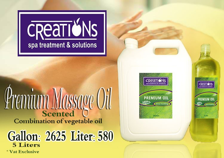 Premium Massage Oil, Vegetable Massage Oil