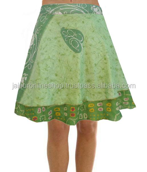 212a9c446438b Girls Silk Mini Short Wrap Skirt Beach Wholesale For Sale - Buy ...
