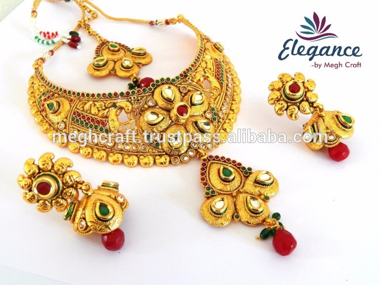 indian bridal jewelry necklace images