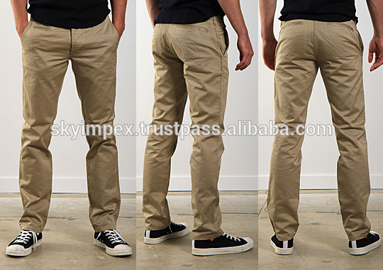 European Style Mens Leisure Chino Pants Latest Style Men Pants ...
