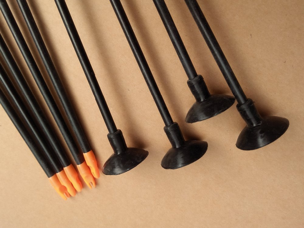 Fiberglass Arrow Suction Cup Arrow For Youth Bow And