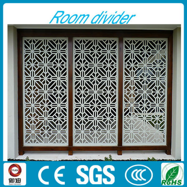 Indoor Used White Laser Cut Folding Wrougnt Iron Room Divider Buy