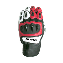Racing Gloves for Bike Riders - Men's Leather Gloves