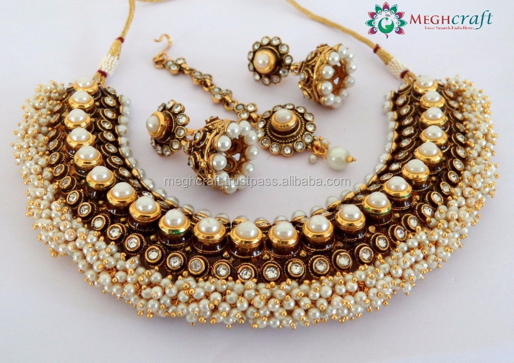Indian Bridal Jewelry Sets Orange Suppliers And Manufacturers At Alibaba
