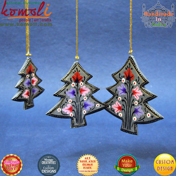 Hand Painted Wooden Christmas Ornaments To Paint Decoration Wood