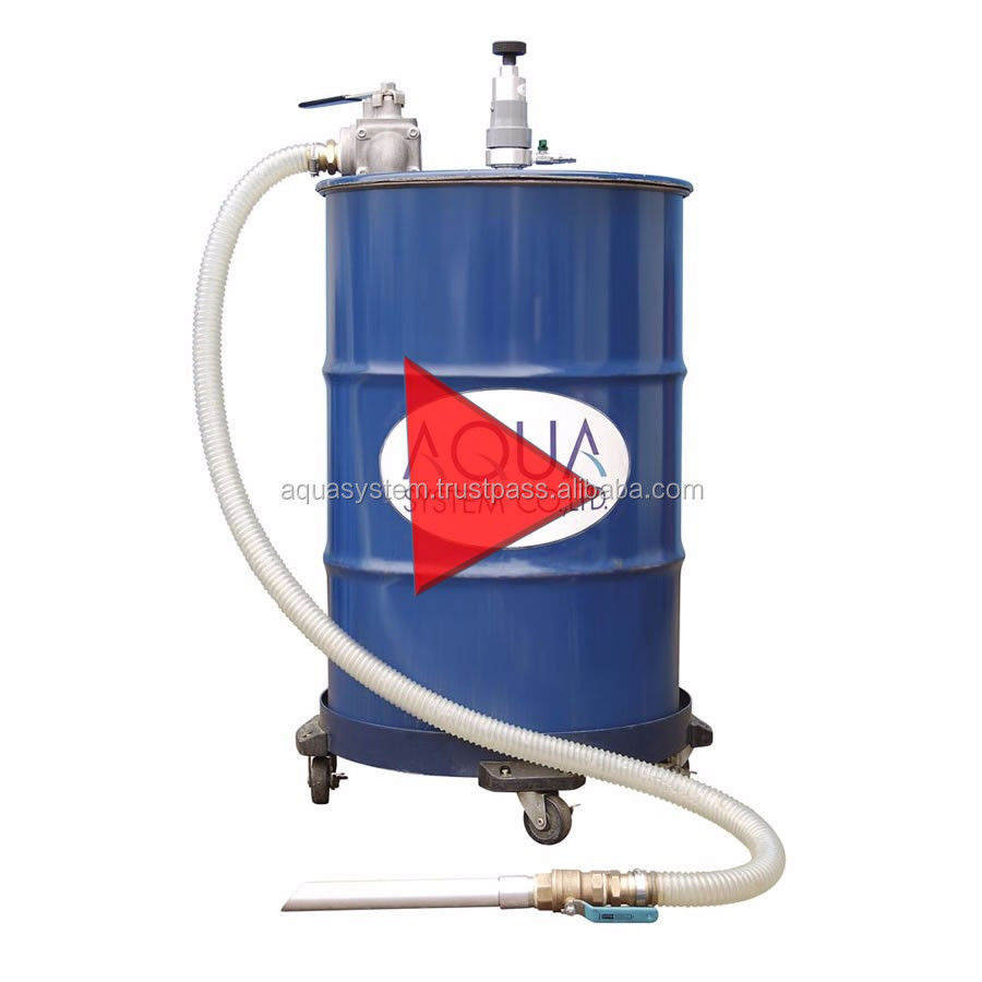 Easy to operate water filtration vacuum cleaner APDQO-F for industrial use , nonwoven filter and SUS filter also available
