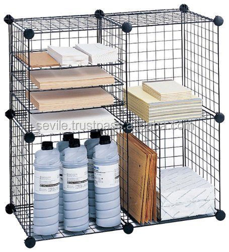 Stackable Black Wire Storage Cubes   Buy Storage Cubes,Wire Storage Cubes,Black  Wire Storage Cubes Product On Alibaba.com