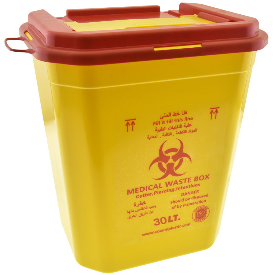 Sharp Container Medical Waste Box