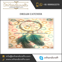 Bulk Buy Custom Handmade Dream Catcher Keychain from Prominent Vendor of the Industry