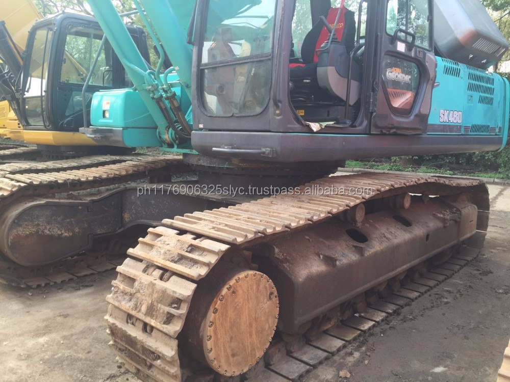 Used Kobelco Sk460 crawler excavator with hydraulic engine for sale/sk450