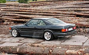 Body kit FOR Mercedes W126 C126 SEC AMG After Facelifting