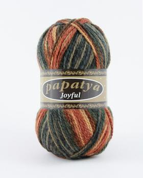 Wool Hand Knitting Yarn Papatya Joyful 400-08