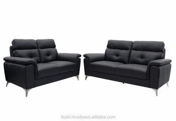 1 2 3 High Quality Classic Top Grain Genuine Leather Sofa Set For