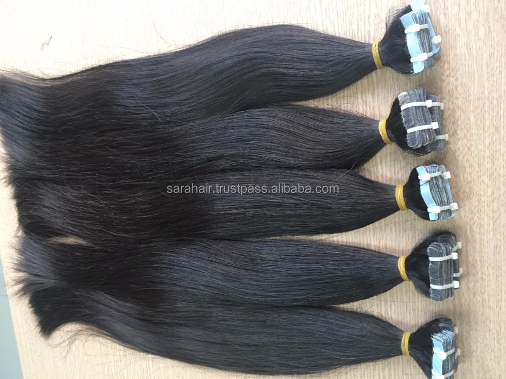 No Smell Straight Tape Hair Extensions