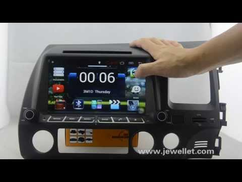 Android honda civic right dvd player, Android honda civic right GPS, Android honda civic right Radio