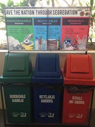 Mobile Plastic Refuse Bin For Waste Segregation