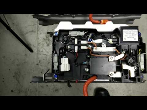 Honda Civic Hybrid Battery Breaker Head Swap Replacement Instruction Tutorial