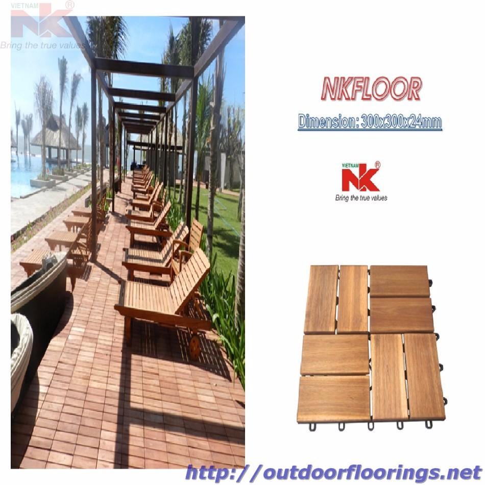 Tuile En Bois Nom revêtement de sol extérieur pour jardin/balcon/piscine/emboîtement dalle de  terrasse en bois extérieure - buy carrelage,mobilier d'extérieur,parquet