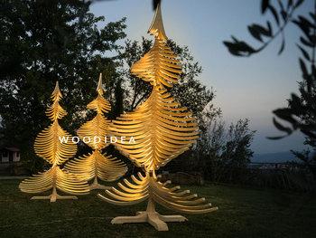 Albero Di Natale Grande.Albert Illum 400 Cm Grande Scoperta A Spirale Led Illuminato Decorazione Albero Di Natale In Legno Buy Decorazioni Di Natale All Aperto Spirale