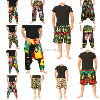 Bob Marley Pantalon Salon Reggae Pantalon Mode Rasta Vêtements En Gros
