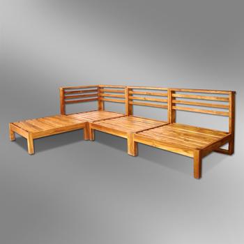 Indoor Outdoor Sectional Sofa Set Jambi Design Buy Wooden