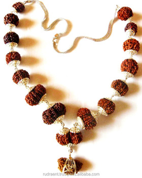 Premium Rudraksha Mala Sterling Silver Necklace - Buy Rudraksha Japa  Mala,108 Beads Mala,Spiritual Mala Product on Alibaba com