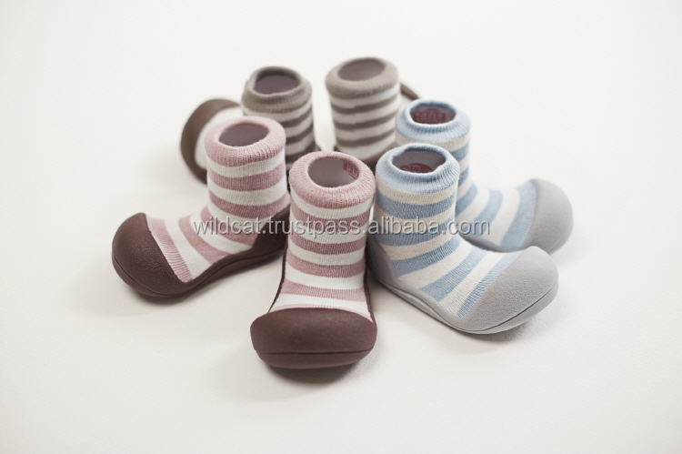 ATTIPAS Natural Herb Lightweight Flexibilty Baby Shoes Patened Toddler Socks Shoes Made in Korea TPR