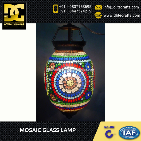 Blue Mosaic Glass Lamp, Blue Mosaic Glass Lamp Suppliers And Manufacturers  At Alibaba.com