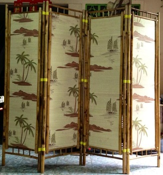 Low Cost Decorative Bamboo Screens/Room Dividers
