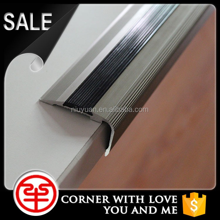 Accessories Decoration China Home Aluminum Stair Nosing Profile ...