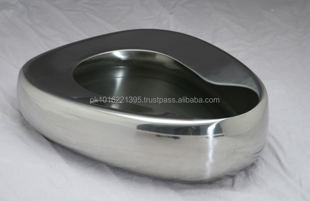 Surgical Patient Bed Pan Stainless Steel Bed Pan Metal Bed Pan