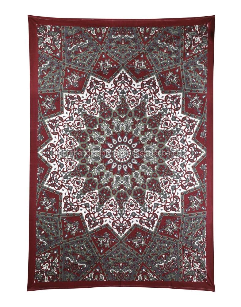 Hippie de la cortina decoración del hogar tapices de pared ...