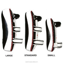 Professional thai pads high quality Martial Arts Training Custom Made Curve