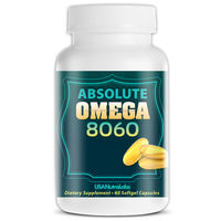 No After Taste Finest Quality Health Food Supplement - OMEGA 3 FISH OIL Capsules