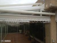 Conservatory glass and aluminium