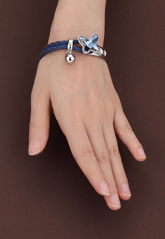 Made In Korea Jewelry Prettica Stylus Erfly Leather Bracelet