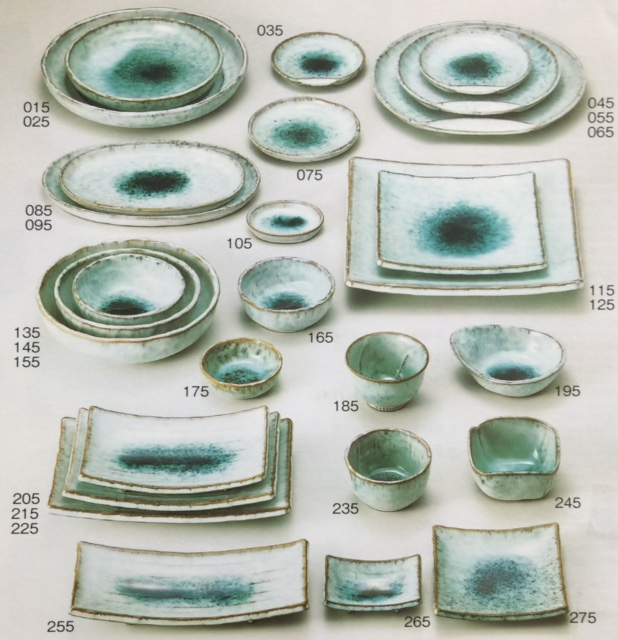 Hochwertige Japanische Keramik Geschirr Lager Verkauf F 252 R