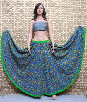 9b795a3d12c210 Buy Unique Indian Block Print Skirts Online - Buy Buy Designer Skirts ...