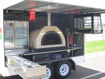 Wood Fired Pizza Oven Trailers