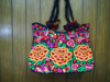Cheap wholesale Thailand handmade festival hmong JUMBO fabric Tote Bag hmong hill tribe bags