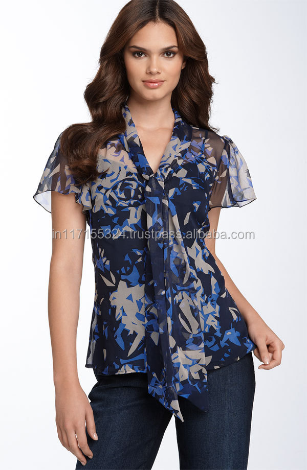 New Ladies Office Wear Topsindo Western Tops Onlineindo